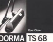 Механический доводчик Dorma TS 68